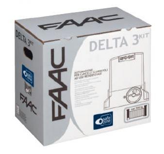 Automatyka bramy przesuwnej  - zestaw startowy Delta 3